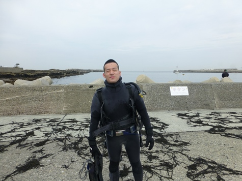 OWDカズキさん海洋実習15.04