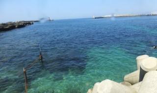 城ケ島のビーチエントリーポイントです。