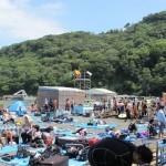 夏の大瀬崎海水浴場150823