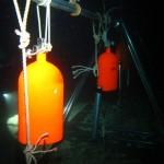 水中 除夜の鐘です。