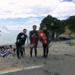 浮島ダイブ 終了 16.08.21