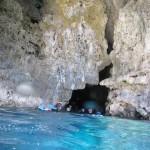 青の洞窟入り口付近にて 16.11.05