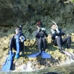 1本目は青の洞窟スノーケルツアー 16.11.05