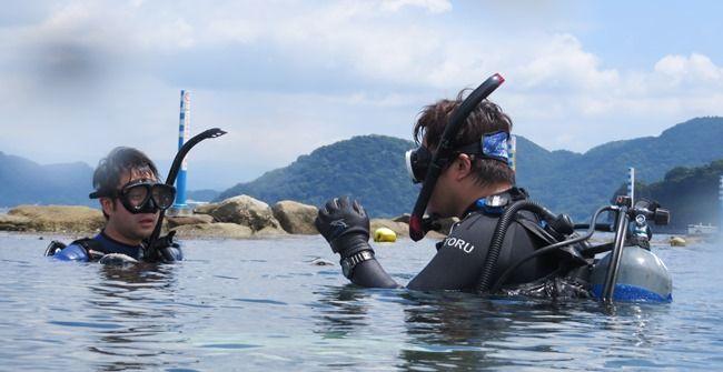 OWライセンス 海洋実習 170728