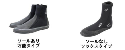 ブーツのタイプを紹介