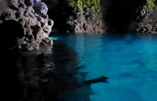 青の洞窟フォトスポット 18.05.31